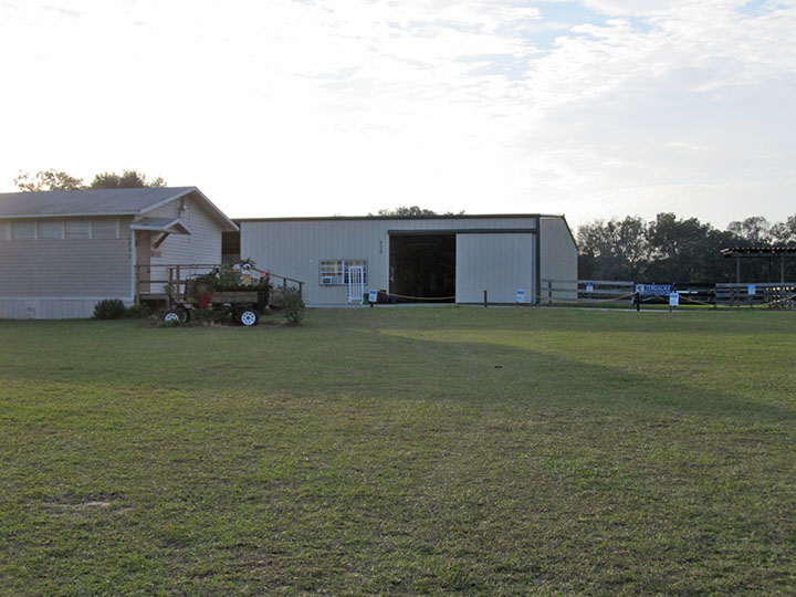Office and Barn at MTRA