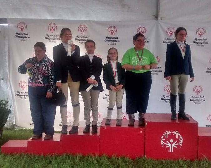 MTRA Riders Shine at State Finals for 2015 Special Olympics!