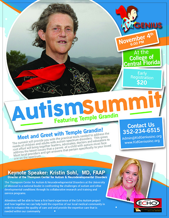 Autism Summit features Dr. Temple Grandin