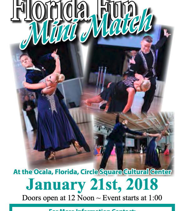 Florida Fun Mini Match Ballroom Dance Event