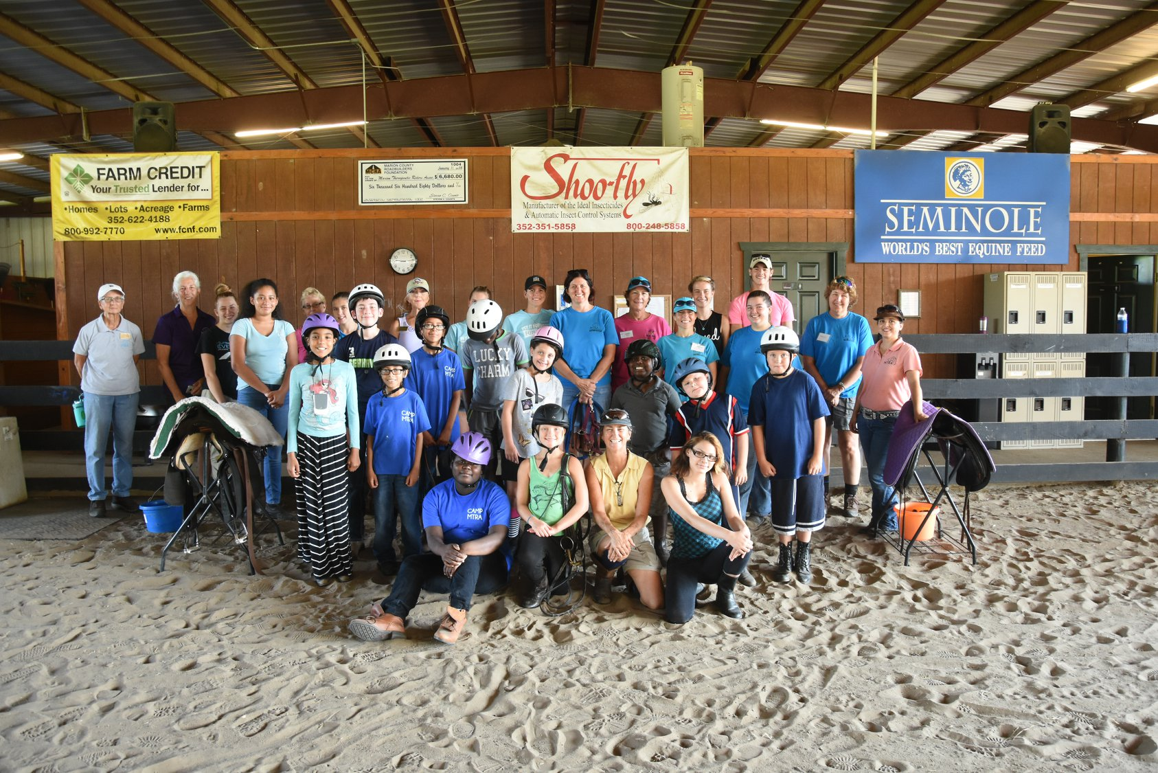 Now accepting applications for Summer Horse Camp! | Marion